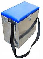 Ящик для зимней рыбалки оцинкованый маленький