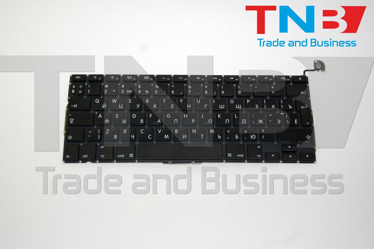 Клавіатура APPLE Macbook Pro A1278 MB466LL/A MB991LL/A  MC700LL/A MD102LL/A Вертик ENTER RU