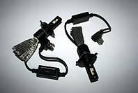 Светодиодные лампы H4 60W 2 штуки