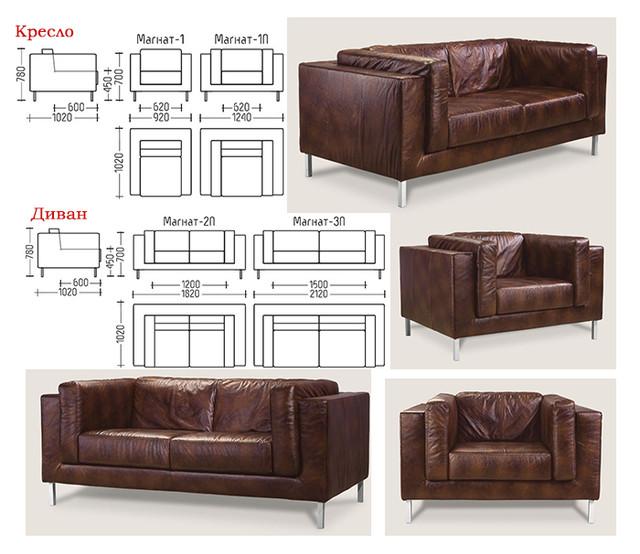 Серия мебели Магнат