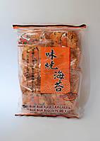 Крекер рисовый острый с морскими водорослями Bin-bin 135 г