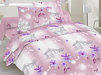 Комплект семейного постельного белья 100% хлопок набор