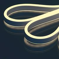 В результате легкости, простоты и безграничности технологических возможностей монтажа гибкий неон очень популярен, с ним можно создавать смелые решения.