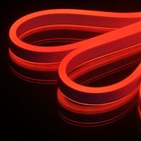 Благодаря своей форме и рационально рассчитанной линейки ярких светодиодов гибкий неон осуществляет сплошное свечение по всей длине гибкого неона.