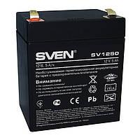 Sven Аккумуляторная батарея SVEN 12V 5AH (SV 1250) AGM