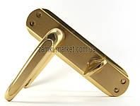 Дверные межкомнатные ручки Ozcanlar MINE Eco Sari 62mm W/C