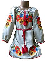 """Вишите плаття для дівчинки """"Мелен"""" (Вышитое платье для девочки """"Мелен"""") DK-0003"""