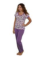 Пижама  для сна женская трикотажная