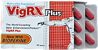 100% Оригинал! «VigrX Plus» (Вигрикс плюс) для увеличения потенции (60 табл)возбудитель