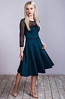 Платье женское модное с кружевом