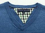 Tomy hilfiger original Мужской свитер пуловер джемпер tommy, фото 10