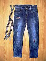 Джинсовые брюки для мальчиков Seagull оптом, 134-164 рр, фото 1