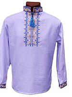 """Вишита сорочка """"Патріотичний узор"""" (Вышитая рубашка """"Патриотический узор"""") DN-0010"""