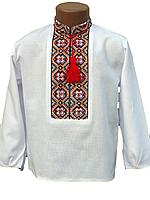 """Вишита сорочка """"Прикарпатський узор"""" (Вышитая рубашка """"Прикарпатский узор"""") DN-0011"""