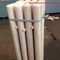 Держак /черенок/  на лопату диаметр 40 мм, высота 1.20см /ясень/
