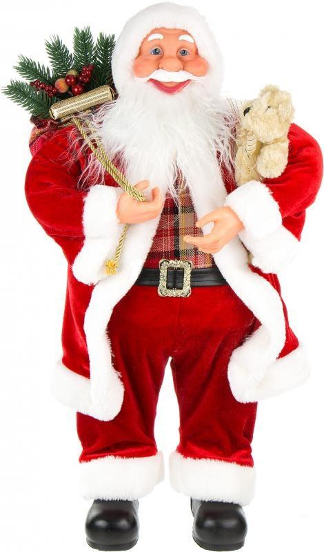 Санта Клаус красный 60 см