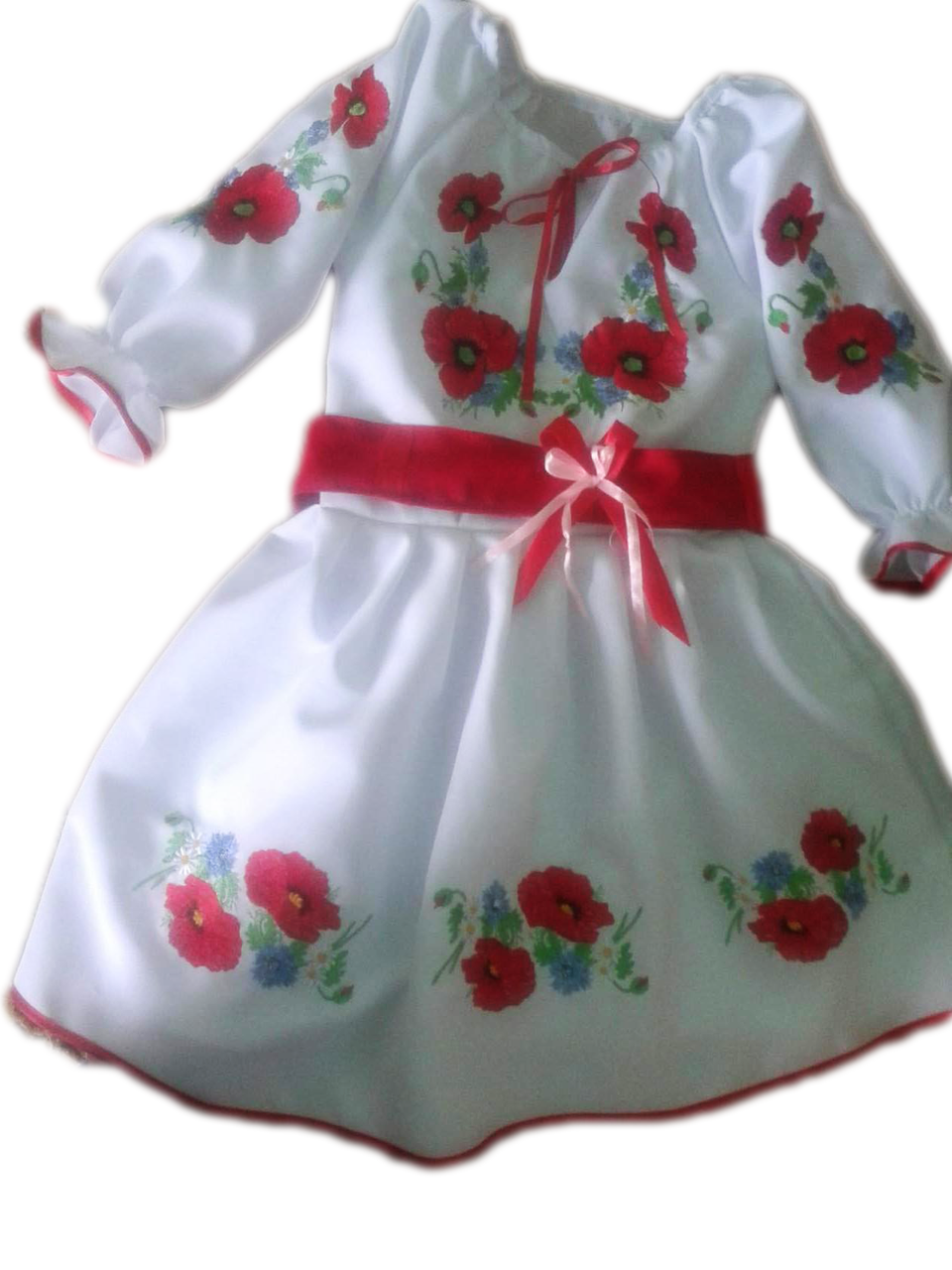 """Вишите плаття для дівчинки """"Літріс"""" (Вышитое платье для девочки """"Литрис"""") DN-0034"""