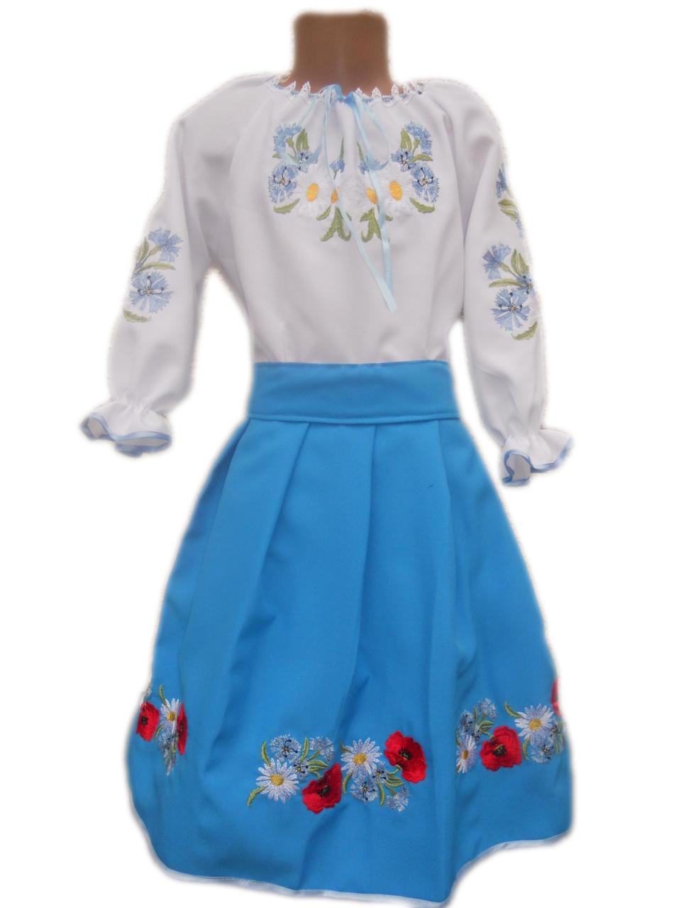 """Вишите плаття для дівчинки """"Маккензі"""" (Вышитое платье для девочки """"Маккензи"""") DN-0036"""