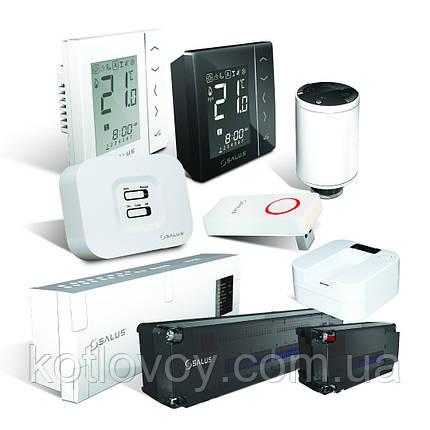 Программируемый термостат с управлением через интернет Salus IT600, фото 2