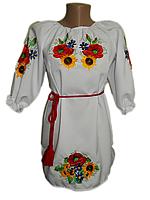 """Вишите плаття для дівчинки """"Моріл"""" (Вышитое платье для девочки """"Морил"""") DN-0027"""