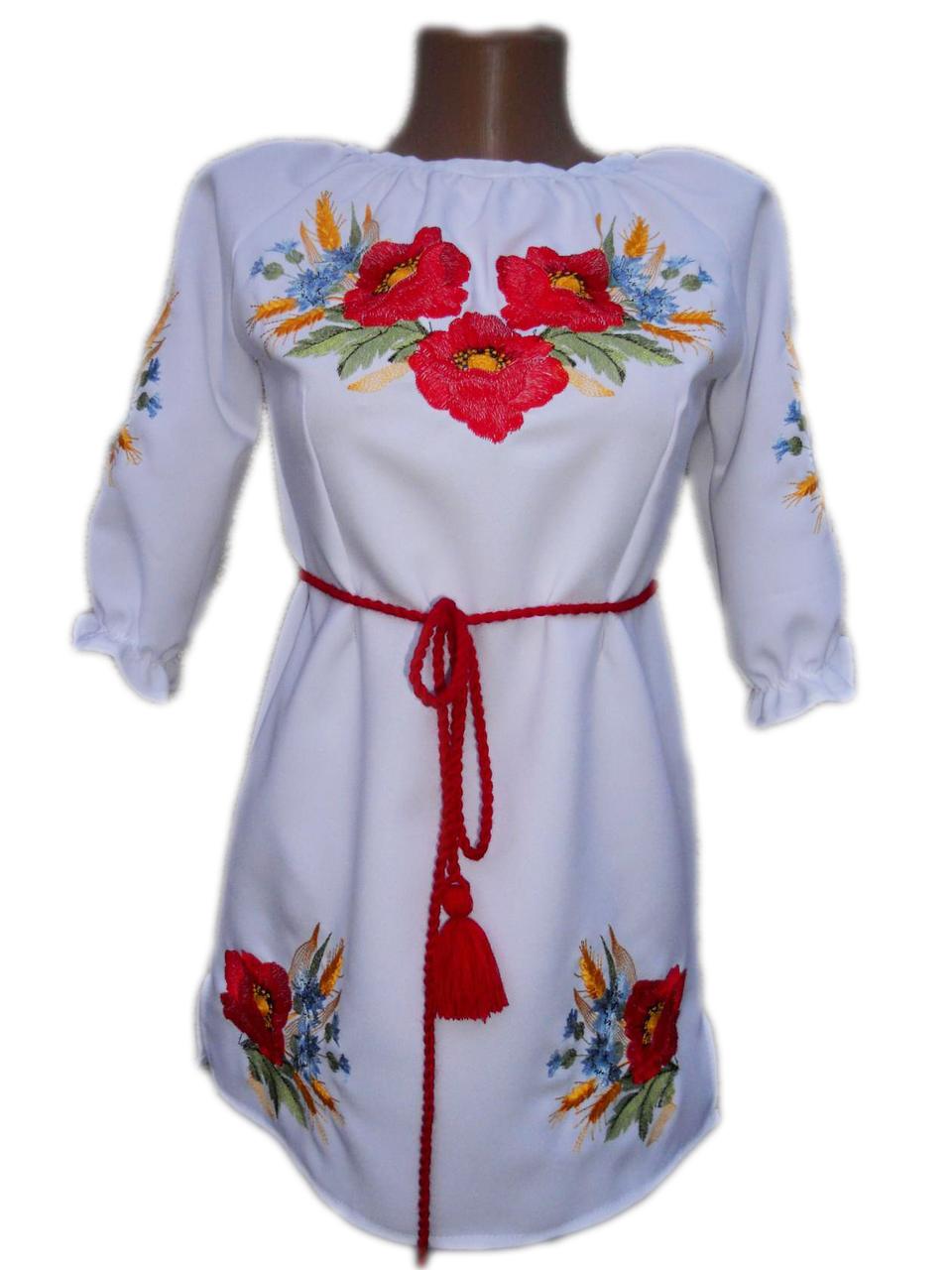 """Вишите плаття для дівчинки """"Маребі"""" (Вышитое платье для девочки """"Мареби"""") DN-0029"""