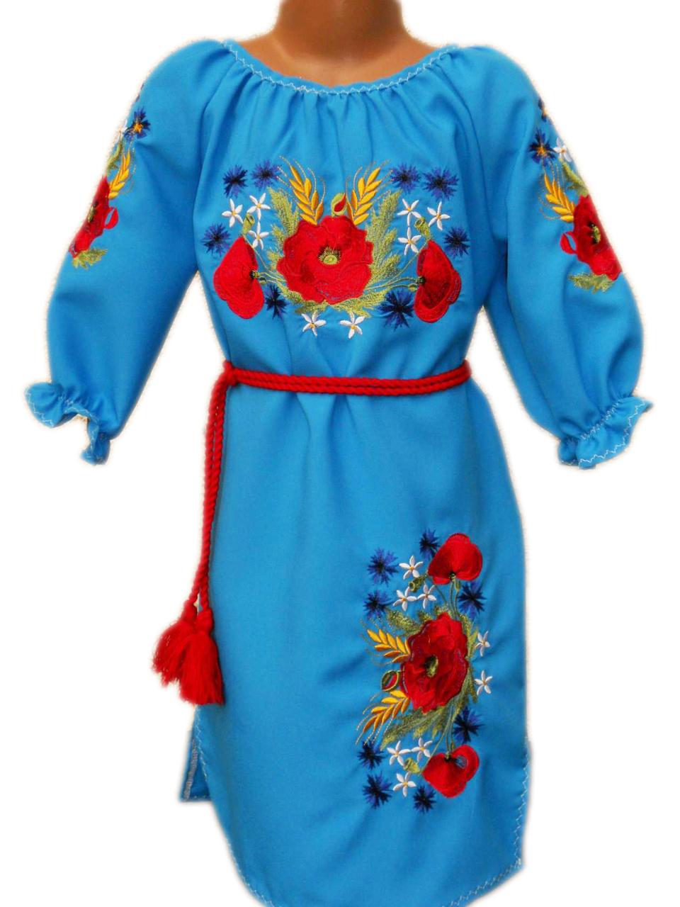 """Вишите плаття для дівчинки """"Марджі"""" (Вышитое платье для девочки """"Марджи"""") DN-0030"""