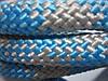 Скакалка для художественной гимнастики 3 м (Голубая/ Серая), фото 2