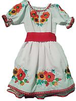 """Вишите плаття для дівчинки """"Летті"""" (Вышитое платье для девочки """"Летти"""") DN-0032"""