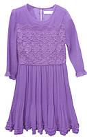 """Подростковое нарядное платье """"Deloras"""" на рост 134-164, фиолетовое"""