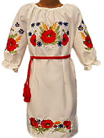 """Вишите плаття для дівчинки """"Мавріл"""" (Вышитое платье для девочки """"Маврил"""") DN-0037"""