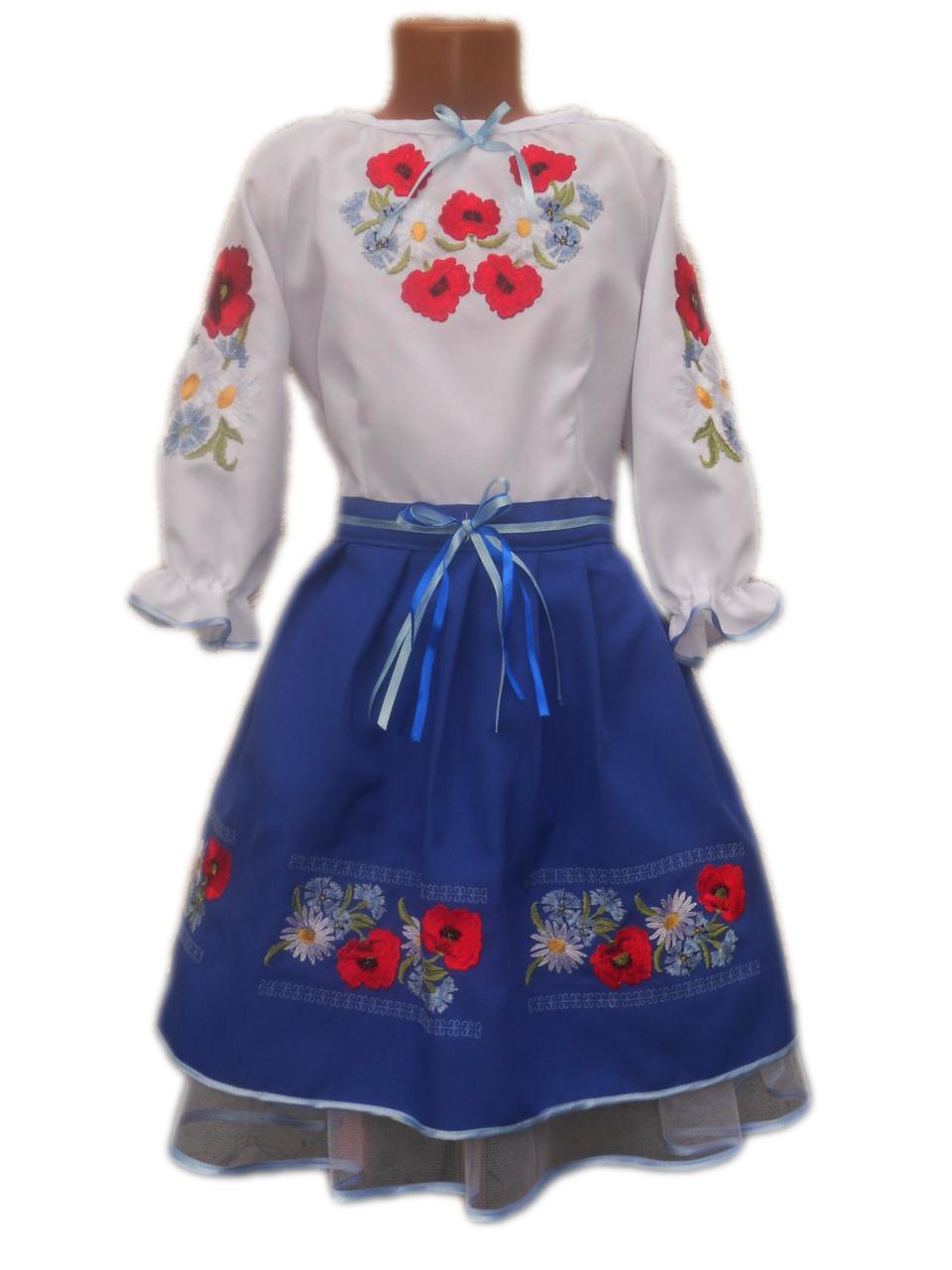 "Вишите плаття для дівчинки ""Лейла"" (Вышитое платье для девочки ""Лейла"") DN-0038"