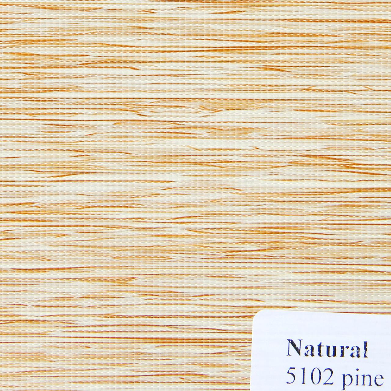Рулонные шторы Одесса Ткань Natural Сосна 5102