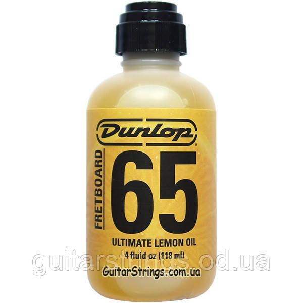 Лимонное масло Dunlop 6554 Fretboard 65 Ultimate Lemon Oil