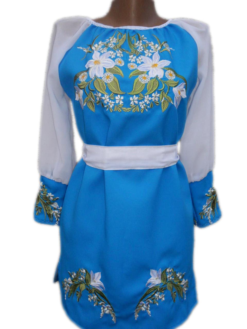 """Вишите плаття для дівчинки """"Мейрі"""" (Вышитое платье для девочки """"Мейри"""") DN-0041"""