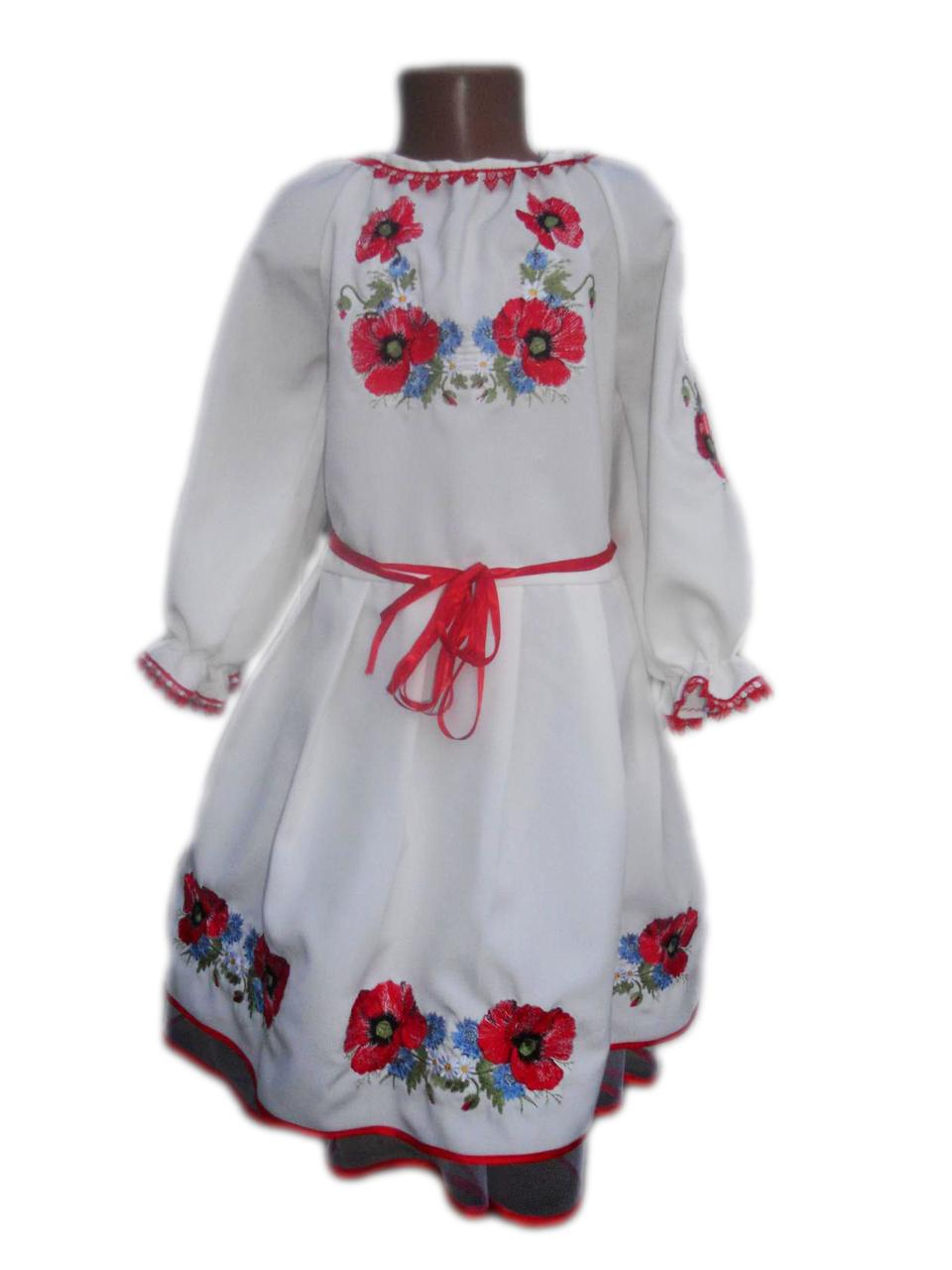 """Вишите плаття для дівчинки """"Мейс"""" (Вышитое платье для девочки """"Мейс"""") DN-0042"""