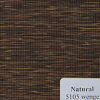 Рулонные шторы Одесса Ткань Natural Венге 5105