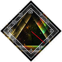 Оригинальные настенные часы Вселенная