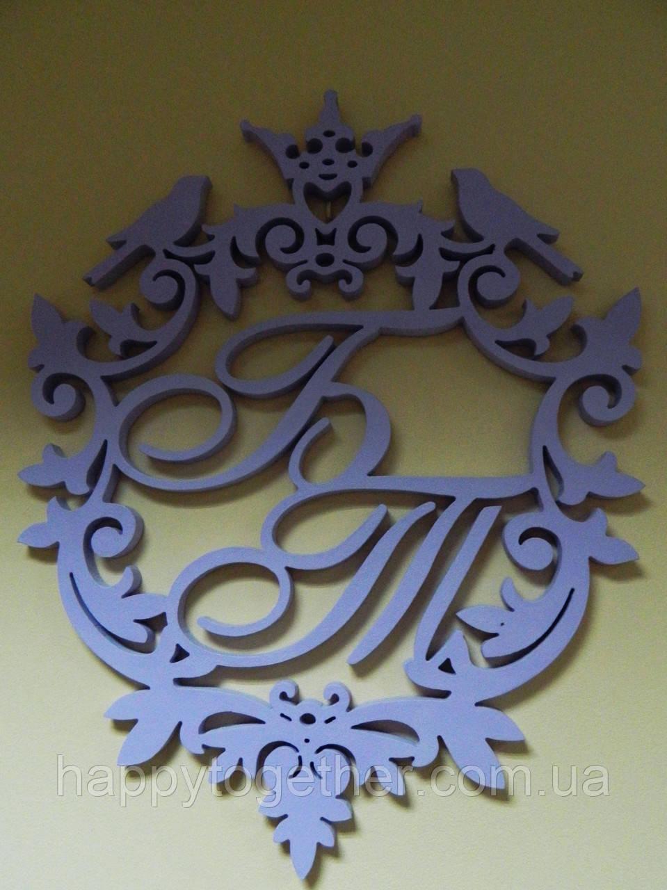 Герб из дерева