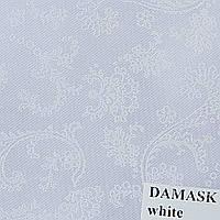 Рулонные шторы Одесса Ткань Damask Белый