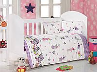 Детское постельное белье для младенцев Eponj Home - Kuslar Lila
