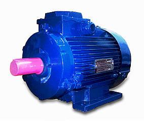 Трёхфазный электродвигатель АИР 63 В6 (0,25 кВт, 1000 об/мин)