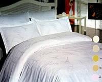 "Постельное белье ""Mariposa"" W1 White de luxe tencel бамбук жаккард"