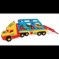 Машинка игрушечная большая Тягач-автовоз из серии Super Truck 36640 Wader