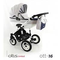 Универсальная коляска 2 в 1 Adbor Ottis OTT-16 Limited