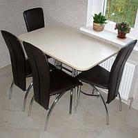 Стул Amely chrome (Амели хром ) стул кухоный ТМ Новый Стиль