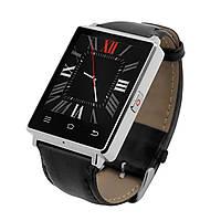 Умные часы D6 No.1 Android 5.1 Кожа, Серебристый