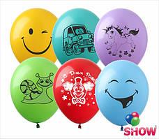 """Воздушные шары ассорти 12"""" (30 см)  ТМ Show"""
