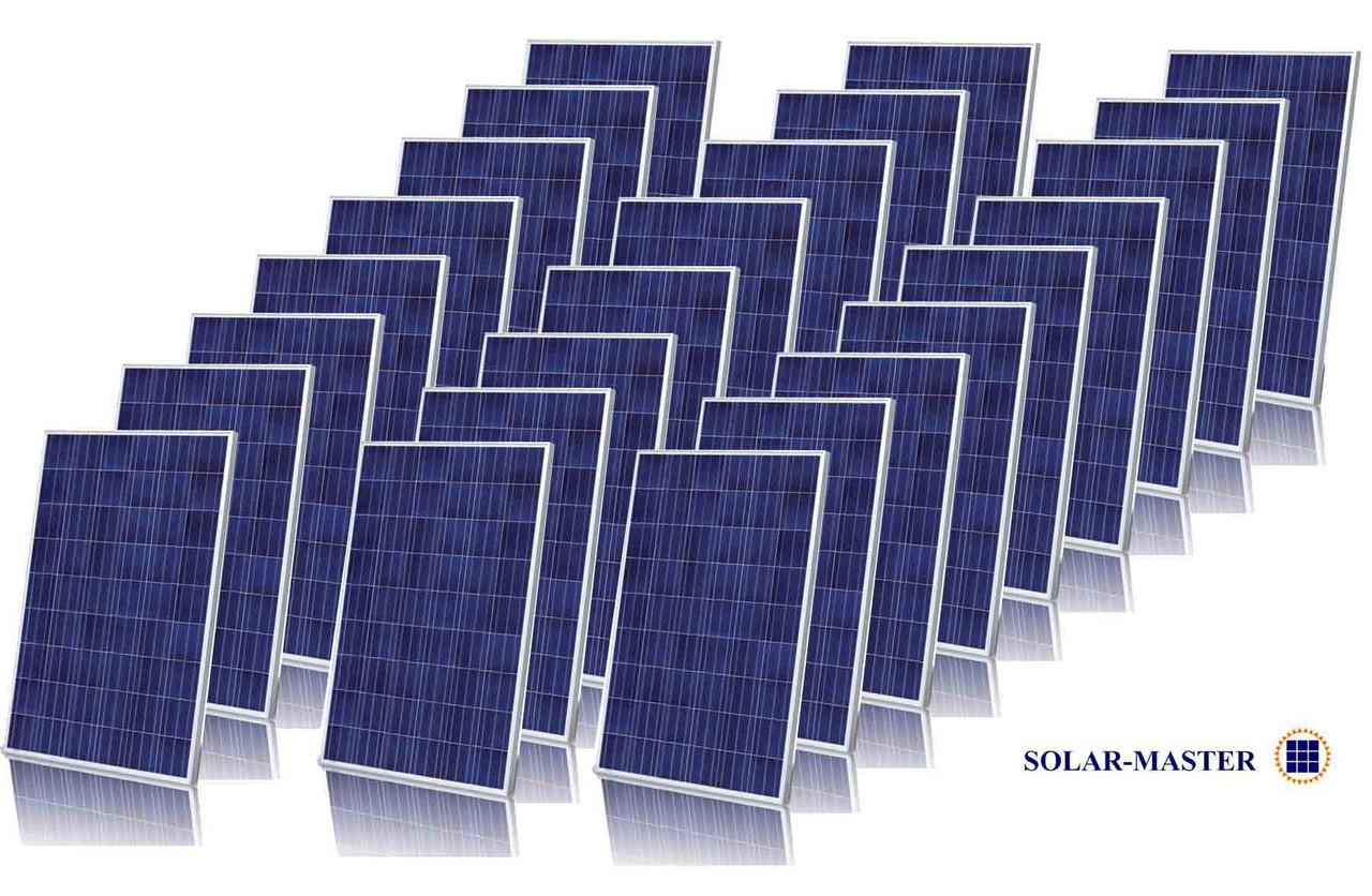 Пакетна пропозиція на підставі Фотомодулів ALM-250P або ALM-300P від 5 кВт до 100 кВт