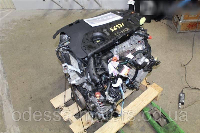 Двигатель Citroën C3 II 1.6 HDi 110, 2009-today тип мотора 9HR (DV6C), фото 1