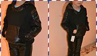 Батник детский плащевка на флисе + брючки, рост 110-116-122-128-134 см